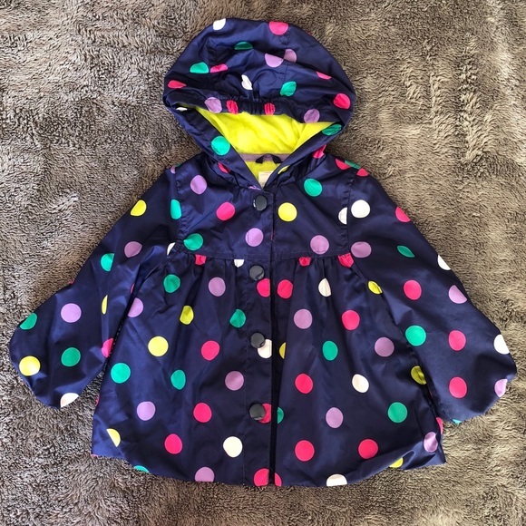 161bf60e84c2e Carter s Other - EUC Carter s polka dot raincoat
